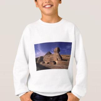ギーザカイロエジプトのスフィンクスそしてピラミッド スウェットシャツ