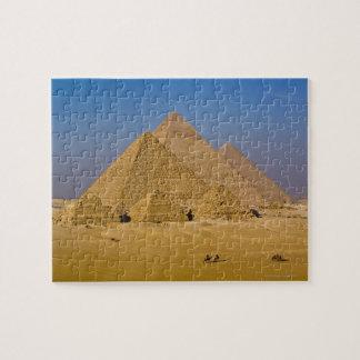 ギーザ、エジプトの素晴らしいピラミッド ジグソーパズル