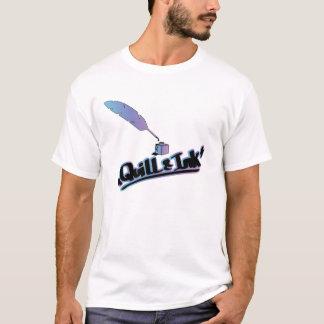 クイル及びインク Tシャツ