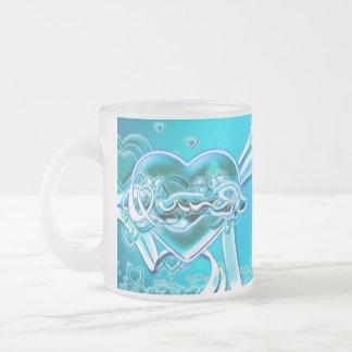 クインシー フロストグラスマグカップ