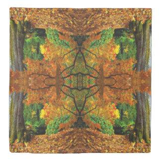 クイーンサイズElvenの秋の羽毛布団カバー 掛け布団カバー