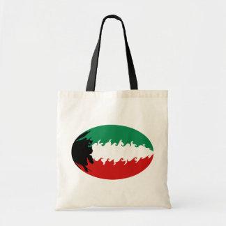 クウェートのすごい旗のバッグ トートバッグ