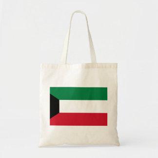 クウェートの国民の世界の旗 トートバッグ