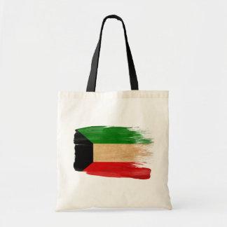 クウェートの旗のキャンバスのバッグ トートバッグ