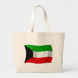 クウェートの旗のトートバック ラージトートバッグ