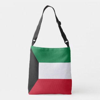 クウェートの旗 クロスボディバッグ