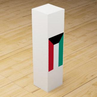 クウェートの旗 ワインギフトボックス