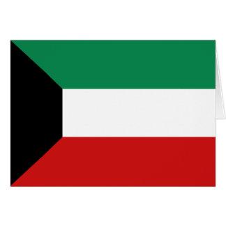 クウェートの旗Notecard カード
