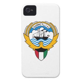 クウェートの紋章付き外衣 Case-Mate iPhone 4 ケース