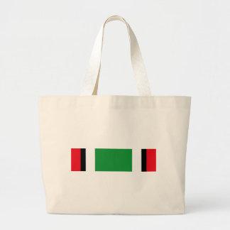 クウェートの解放のサウジアラビア人のリボン ラージトートバッグ