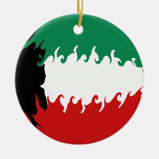 クウェート|すごい|旗 オーナメント