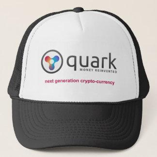 クォークの暗号の通貨の帽子  Quarkcoin キャップ