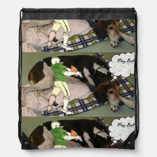 クォーターバックのnの猟犬のバッグ ナップサック