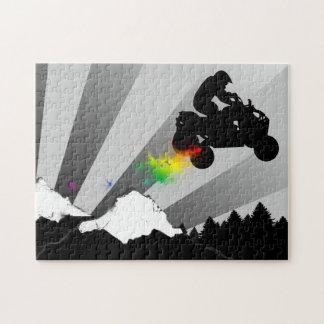 クォード: 土の道 ジグソーパズル