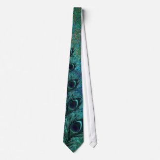 クジャクは暗い星パターンタイに羽をつけます オリジナルネクタイ
