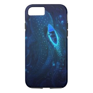 クジラおよびボート iPhone 7ケース