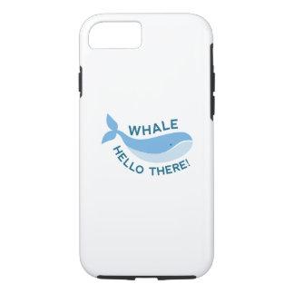 クジラこんにちはそこに! iPhone 8/7ケース