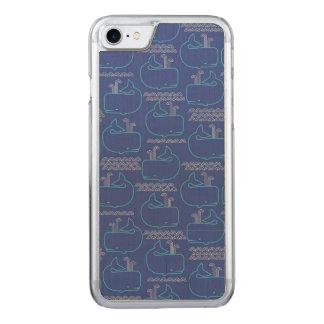 クジラのオーナメント CARVED iPhone 8/7 ケース