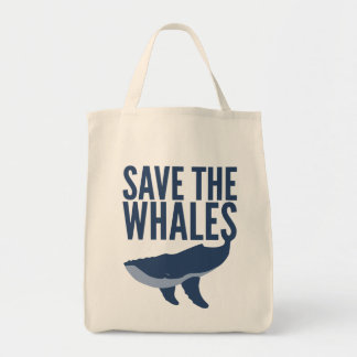 クジラのトートバックを救って下さい トートバッグ