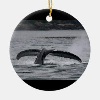 クジラの尾肝蛭 セラミックオーナメント