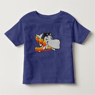 クジラの幼児のTシャツのまばたき トドラーTシャツ