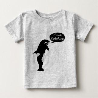 クジラの自己喪失のTシャツ ベビーTシャツ