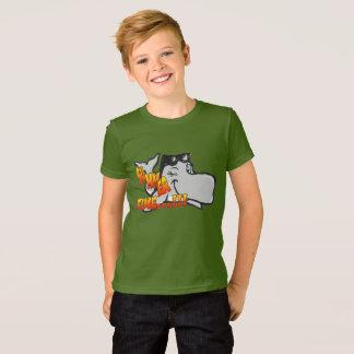 クジラをまばたきさせて服装のTシャツをからかいます Tシャツ