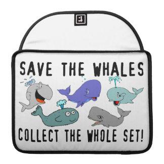 クジラを集めます全体セットを救って下さい MacBook PROスリーブ