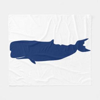 クジラ海軍 フリースブランケット