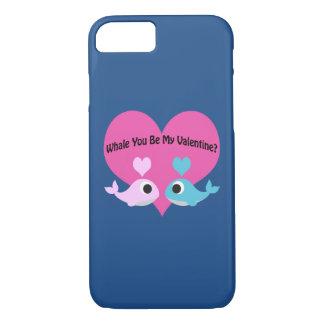 クジラ私のバレンタインですか。 iPhone 8/7ケース