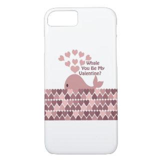 クジラ私のバレンタインです iPhone 8/7ケース