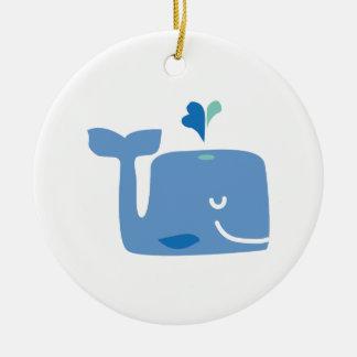 クジラ セラミックオーナメント