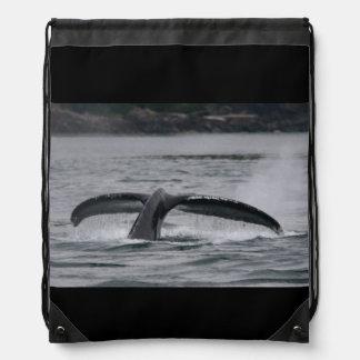 クジラ ナップサック