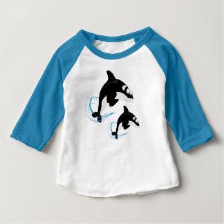クジラ ベビーTシャツ