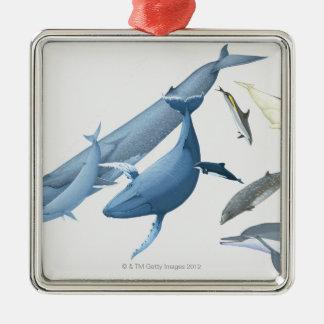 クジラ メタルオーナメント