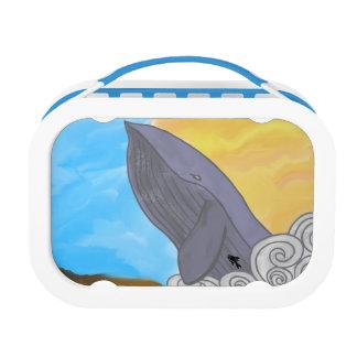 クジラ、魚および要素 ランチボックス
