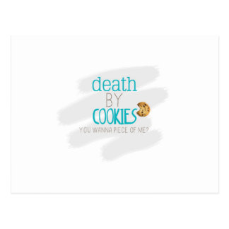 クッキーによる死 ポストカード