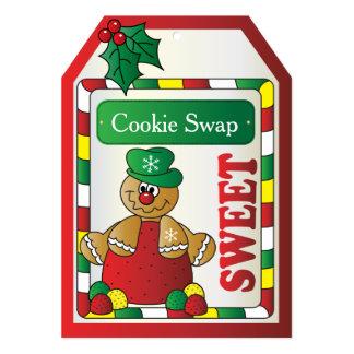 クッキーのジンジャーブレッドの交換 カード