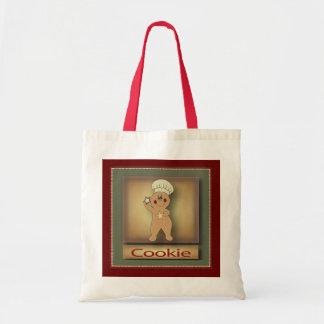 クッキーのジンジャーブレッドマン トートバッグ