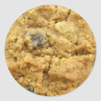 クッキーのステッカー0005 丸形シール・ステッカー