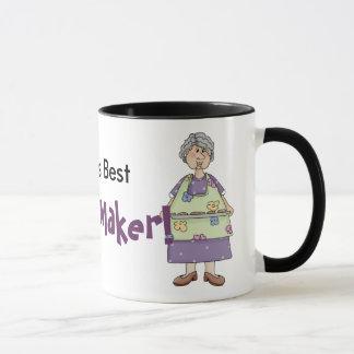 クッキーのデザインの祖母 マグカップ