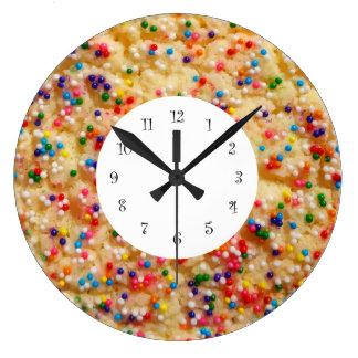 クッキーのノベルティの柱時計 ラージ壁時計