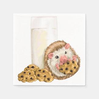 クッキーのブタ スタンダードカクテルナプキン