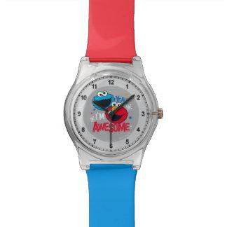 クッキーのモンスター及びElmo |ええ、私は素晴らしいです 腕時計