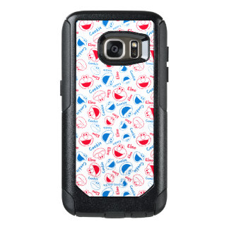 クッキーのモンスター及びElmo |の赤く及び青パターン オッターボックスSamsung Galaxy S7ケース