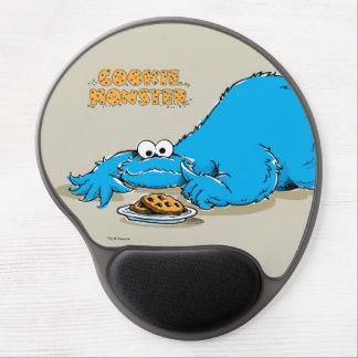 クッキーのヴィンテージのクッキーモンスターのプレート ジェルマウスパッド