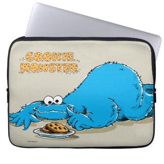 クッキーのヴィンテージのクッキーモンスターのプレート ラップトップスリーブ