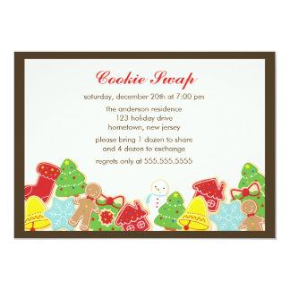 クッキーの交換のパーティー カード