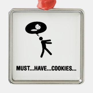 クッキーの恋人 メタルオーナメント
