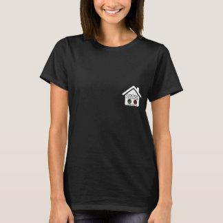 クッキーの手形交換所の女性のTシャツ Tシャツ
